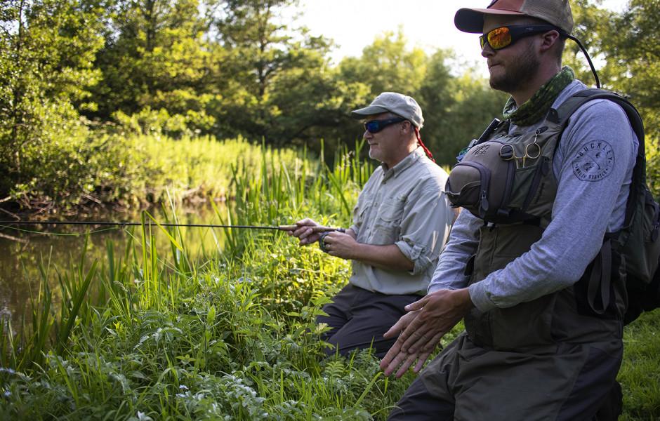 jonathan mcgee, aim cam, fishing, glasses